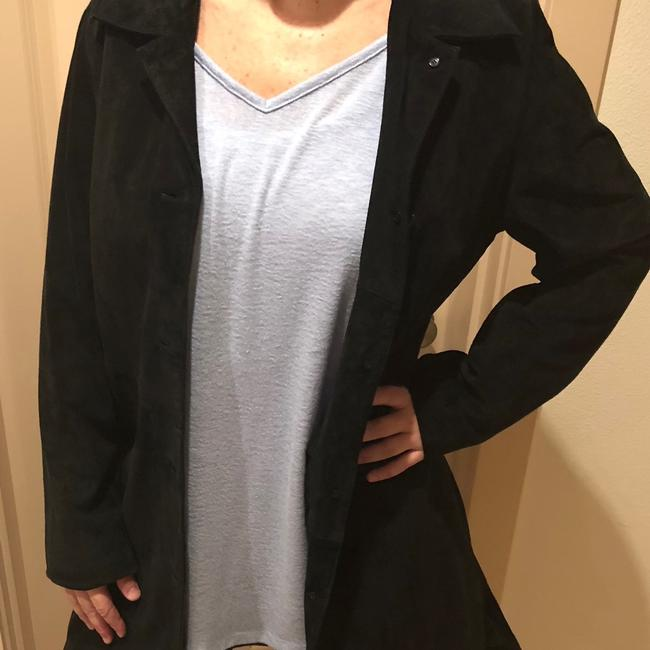 Preload https://img-static.tradesy.com/item/24256268/live-a-little-black-suede-by-jacket-size-12-l-0-2-650-650.jpg