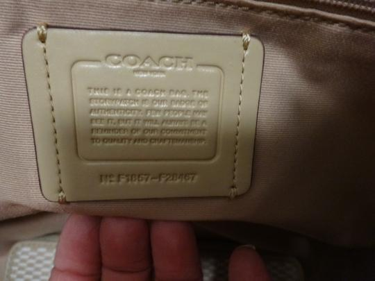 Coach New W Jacquard Shoulder Bag