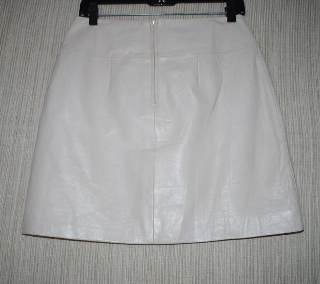 Margaret Godfrey Mini Skirt ivory