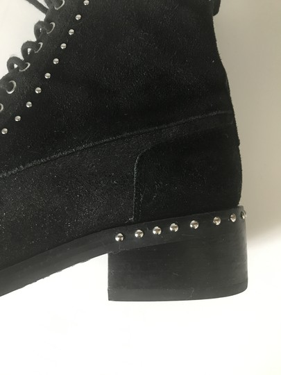 Marc Fisher Studded Leather Black Boots