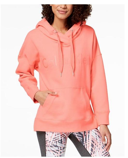 Preload https://img-static.tradesy.com/item/24256333/calvin-klein-coral-performance-over-sized-hoodie-activewear-size-12-l-0-0-650-650.jpg