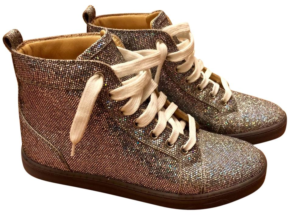 2ed6c9b3aa78 Christian Louboutin Multi-colored Hologram Glitter Sneakers Sneakers ...