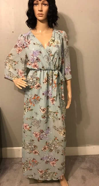 Preload https://img-static.tradesy.com/item/24256353/bailey-blue-green-floral-long-casual-maxi-dress-size-6-s-0-2-650-650.jpg