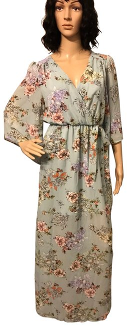 Preload https://img-static.tradesy.com/item/24256353/bailey-blue-green-floral-long-casual-maxi-dress-size-6-s-0-3-650-650.jpg