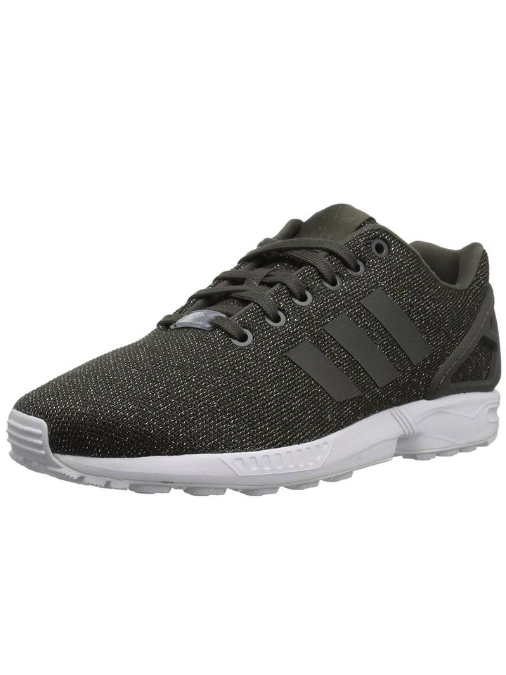 promo code 48936 77d2f adidas Gray Green Women's Zx Flux 3 Stripes Running Sneakers Size US 6.5  Regular (M, B)