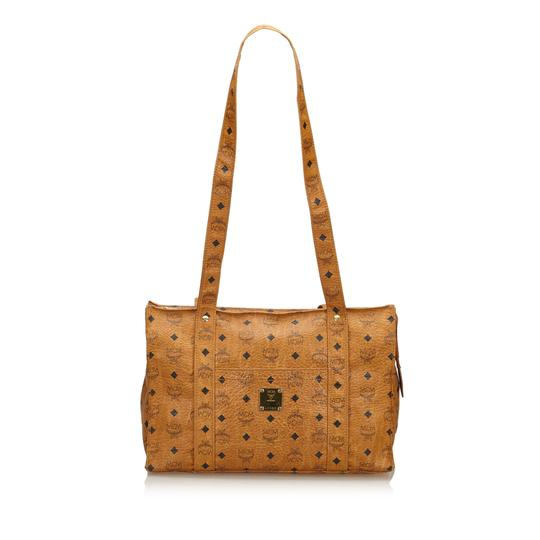 Preload https://img-static.tradesy.com/item/24256436/mcm-visetos-brown-leather-x-others-tote-0-0-540-540.jpg