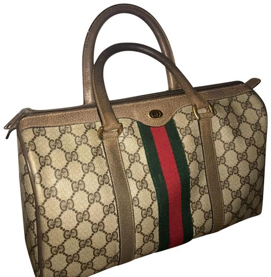 Preload https://item5.tradesy.com/images/gucci-boston-supreme-canvas-brown-leather-satchel-24256439-0-3.jpg?width=440&height=440
