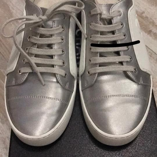 Chanel silver /white Athletic