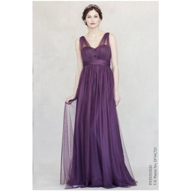 Preload https://img-static.tradesy.com/item/24256472/jenny-yoo-raisin-anabelle-tulle-convertible-gown-long-formal-dress-size-14-l-0-0-650-650.jpg