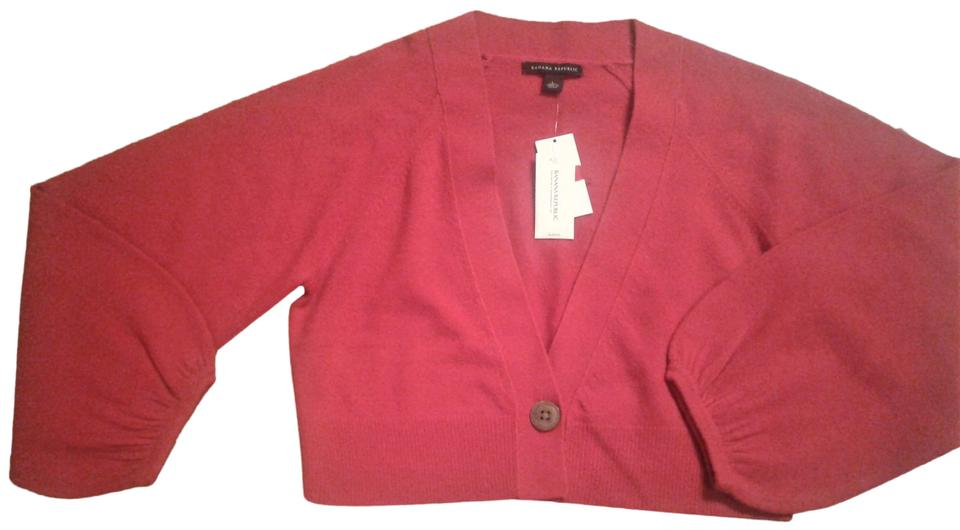 0be7371b29 Banana Republic V Neck Cropped Wool And Cashmere Longsleeve Made In China  Cardigan Image 0 ...
