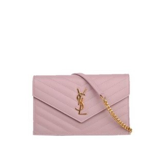 98a8f264938da Saint Laurent Monogram Ysl Wallet On Chain Chain Wallet Cross Body Bag