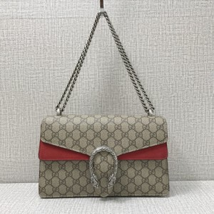 88b12a543ee7f Gucci Dionysus Gg Supreme Calfskin Leather Shoudler Beige and Tawny ...