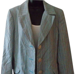 Dana Buchman Career Multi stripe Blazer