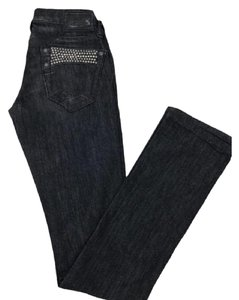 Robin's Jean Straight Leg Jeans-Medium Wash