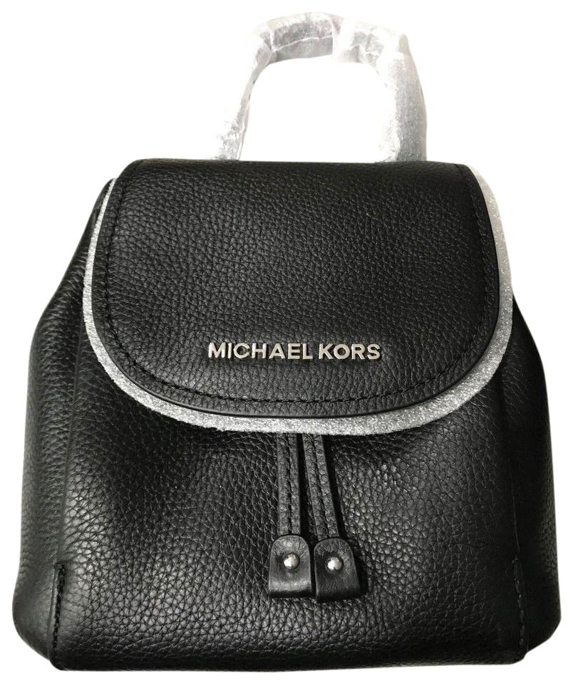 e79953a57656b7 Michael Kors Riley Pebbled Black Leather Cross Body Bag - Tradesy