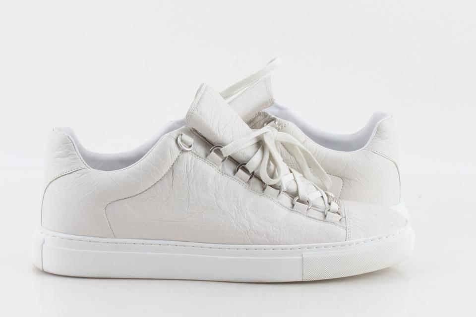 38800a186470 Balenciaga White Low Cut Arena Sneakers Shoes Image 0 ...