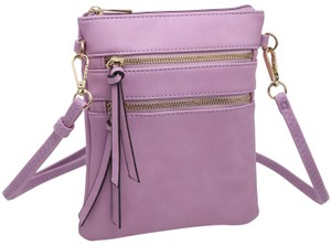 Dasein The Treasured Hippie Designer Inspired Small Handbags Affordable Bags Crossbody Bags Purple Messenger Bag