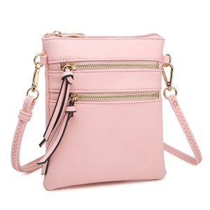 Dasein The Treasured Hippie Designer Inspired Small Handbags Affordable Bags Crossbody Bags Pink Messenger Bag