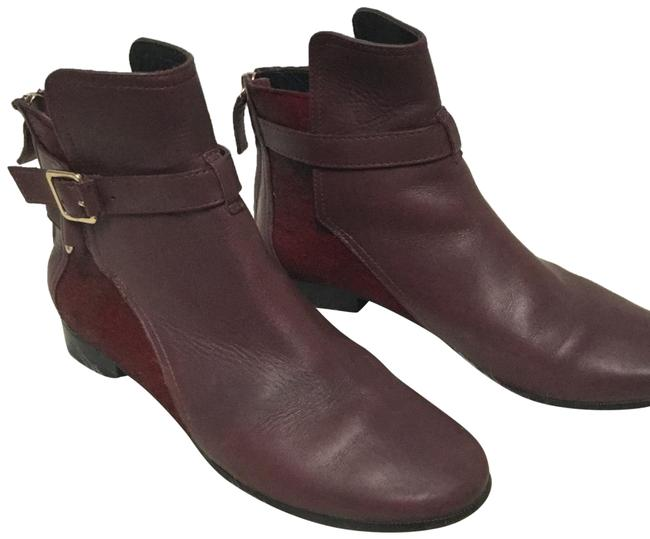 Item - Red F Keith Calf Hair &leather Ankle Boots/Booties Size US 6 Regular (M, B)