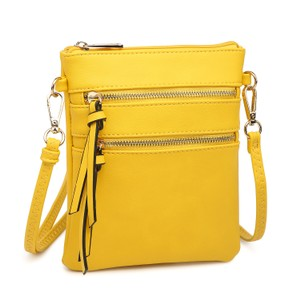 Dasein The Treasured Hippie Designer Inspired Small Handbags Affordable Bags Crossbody Bags Yellow Messenger Bag