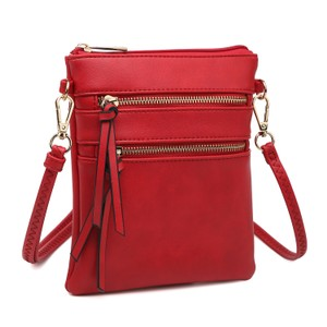 Dasein The Treasured Hippie Designer Inspired Small Handbags Affordable Bags Crossbody Bags Red Messenger Bag