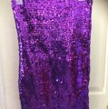 Purple Sparkling One Size Fits All Dress Dress Image 1