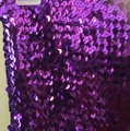 Purple Sparkling One Size Fits All Dress Dress Image 2