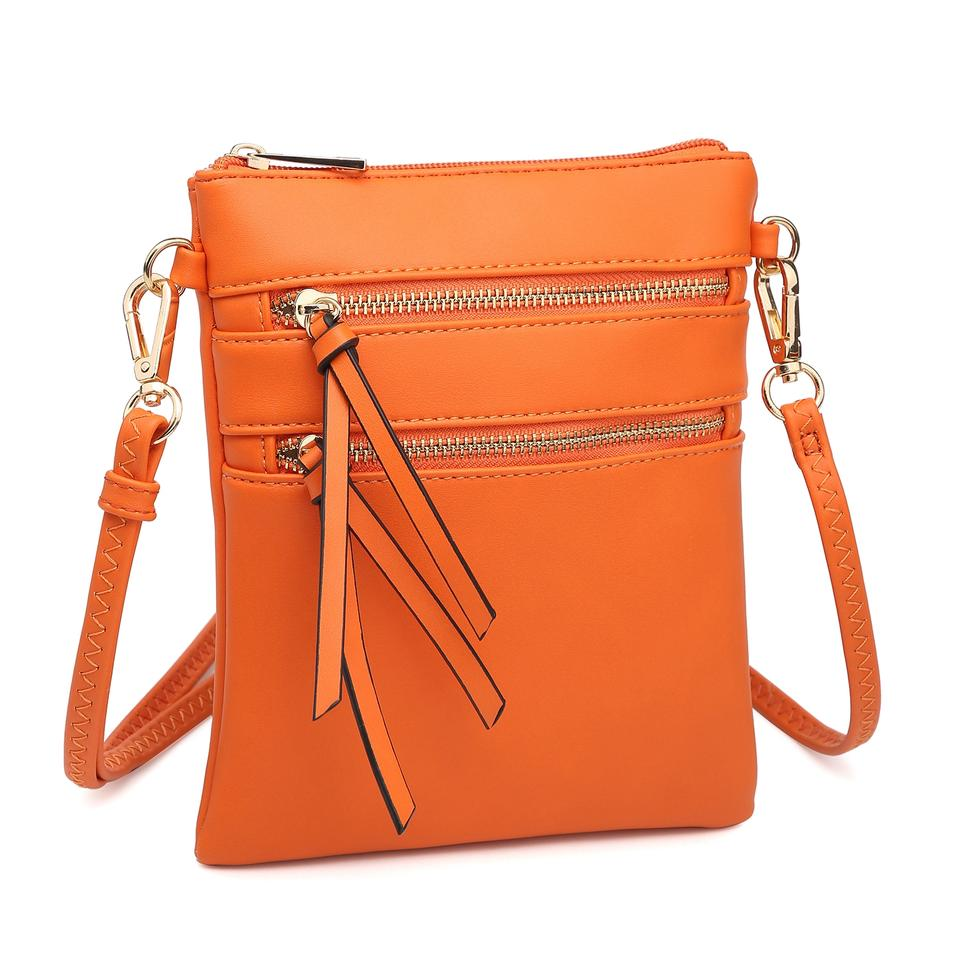 518024be1849 Dasein The Treasured Hippie Designer Inspired Small Handbags Affordable  Bags Crossbody Bags Orange Messenger Bag ...