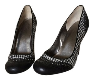Guess Heels Pump Hounds tooth, black Pumps