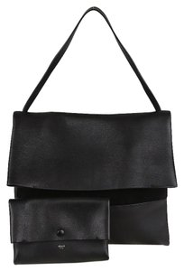 Céline Calfskin Leather Designer Shoulder Bag