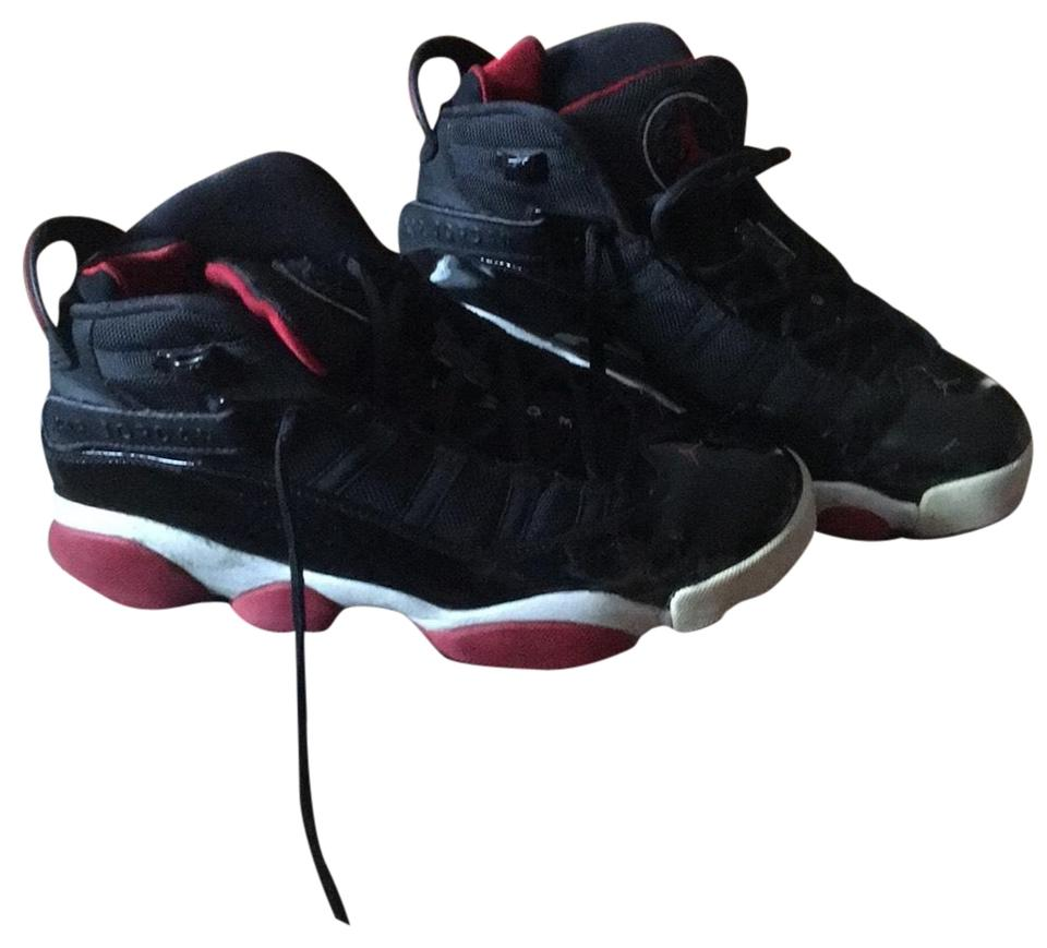 promo code daaff a9c08 Nike Black/Varsity Red-white Air Jordan 6 Rings (Gs) Sneakers Size US 8  Regular (M, B)