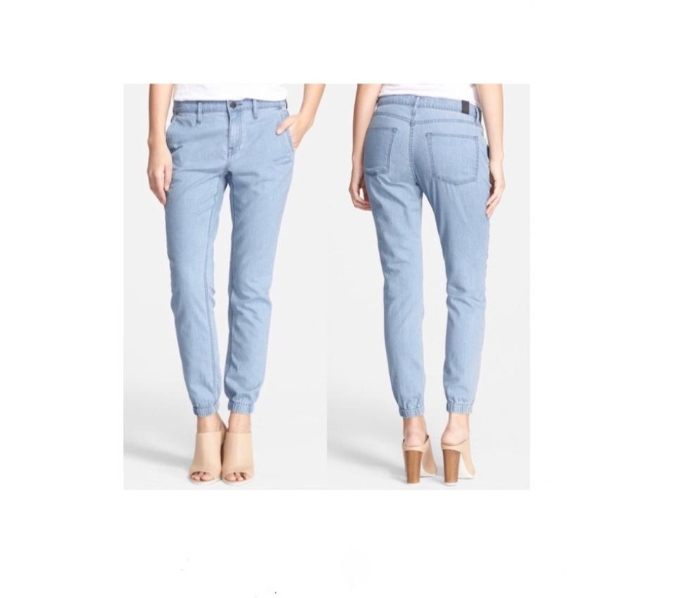 35c436947513b5 Vince Joggers Chambray Pants Casual Relaxed Fit Jeans-Light Wash Image 0 ...