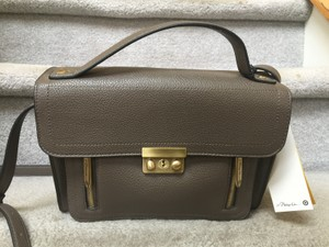 3.1 Phillip Lim for Target Satchel in Gray/ Taupe