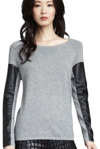 AIKO Cashmere Leather Sweater
