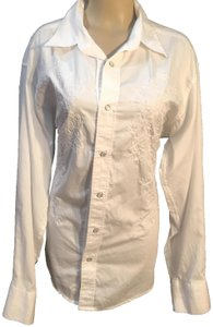 Panhandle Slim Button Down Shirt White