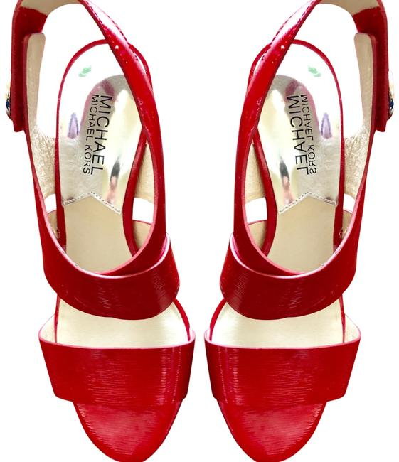 Item - Red None Formal Shoes Size US 6.5 Regular (M, B)