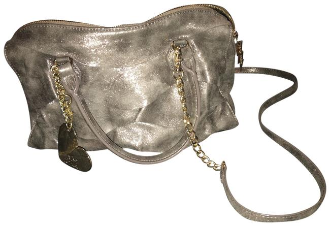 Item - Just For The Frill Of It Gray Polyester Satchel