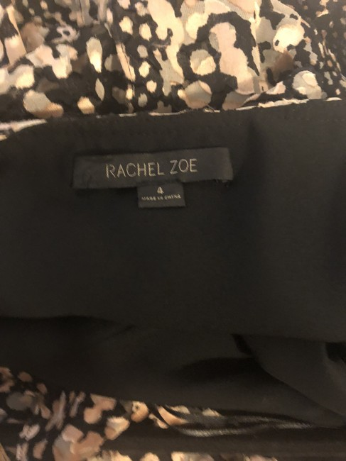 Rachel Zoe Animal Print Ruffle Dress Image 3