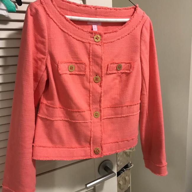 Lilly Pulitzer Coral pink Blazer Image 1