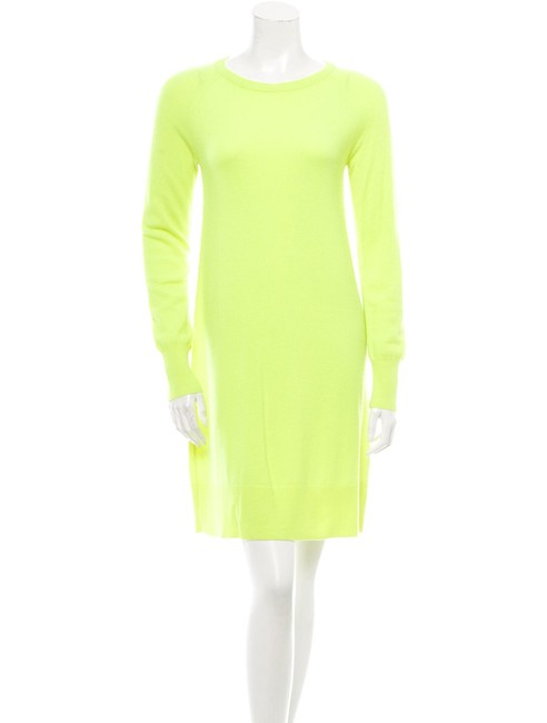 Preload https://img-static.tradesy.com/item/24259602/michael-kors-neon-green-short-casual-dress-size-4-s-0-0-650-650.jpg