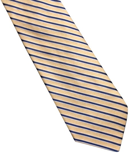 Preload https://img-static.tradesy.com/item/24259613/tommy-hilfiger-yellow-and-navy-tie-0-3-540-540.jpg