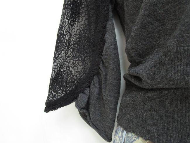 Knitted and Knotted Blouson Blouson Lace Sweater Image 4