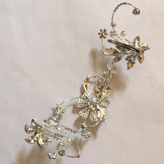 David's Bridal Silver Piece Hair Accessory Image 1