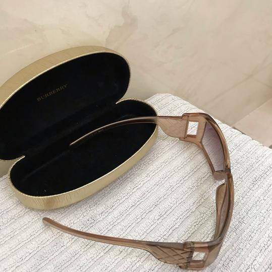 Burberry Gold light colored lens sunglasses Image 1