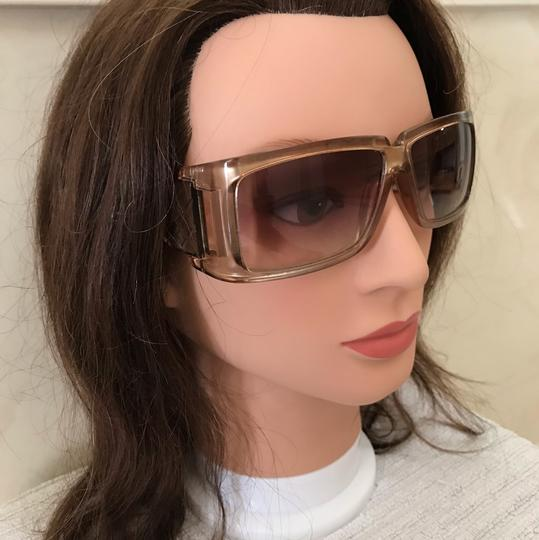 Burberry Gold light colored lens sunglasses Image 4