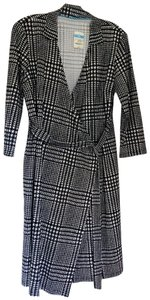 J.McLaughlin short dress Houndstooth Wrap on Tradesy