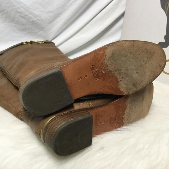 Coach Tan brown Boots Image 3