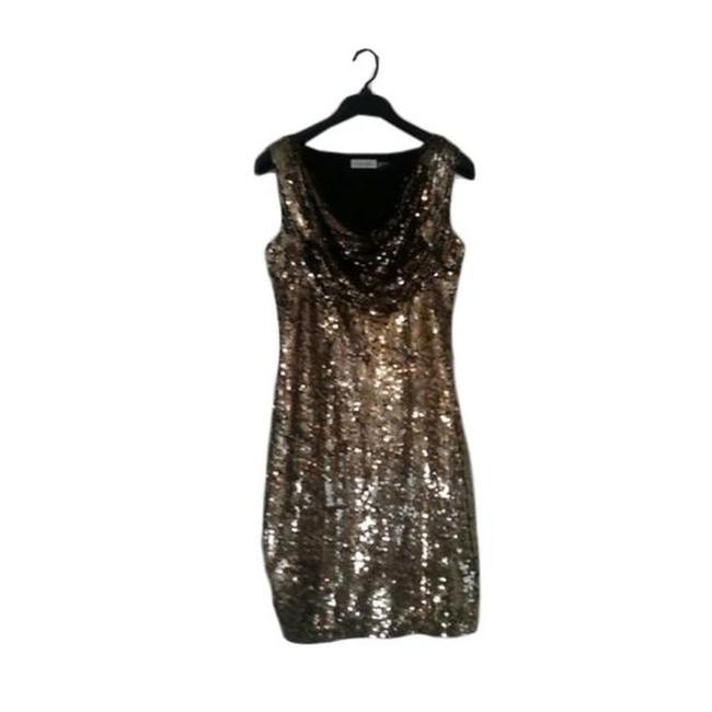 Item - Gold Sequin Cocktail Dress Size 2 (XS)