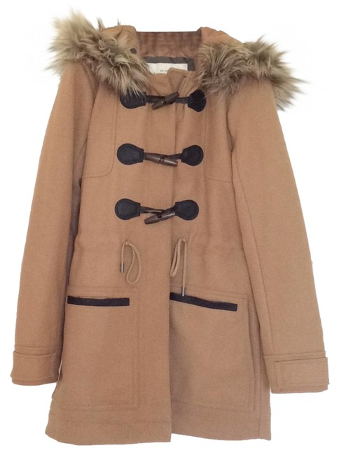 Preload https://img-static.tradesy.com/item/24260006/abercrombie-and-fitch-tan-wool-duffle-coat-size-0-xs-0-3-650-650.jpg
