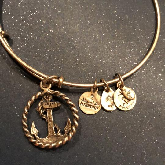 Alex and Ani Alex and Ani Anchor and Rope Bangle 23383720 Image 4
